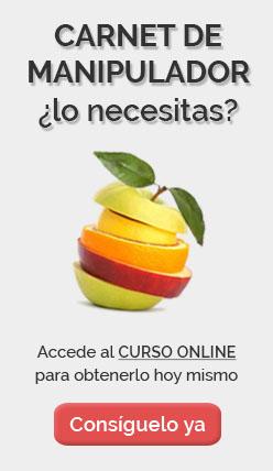 carnet de manipulador de alimentos gratis online